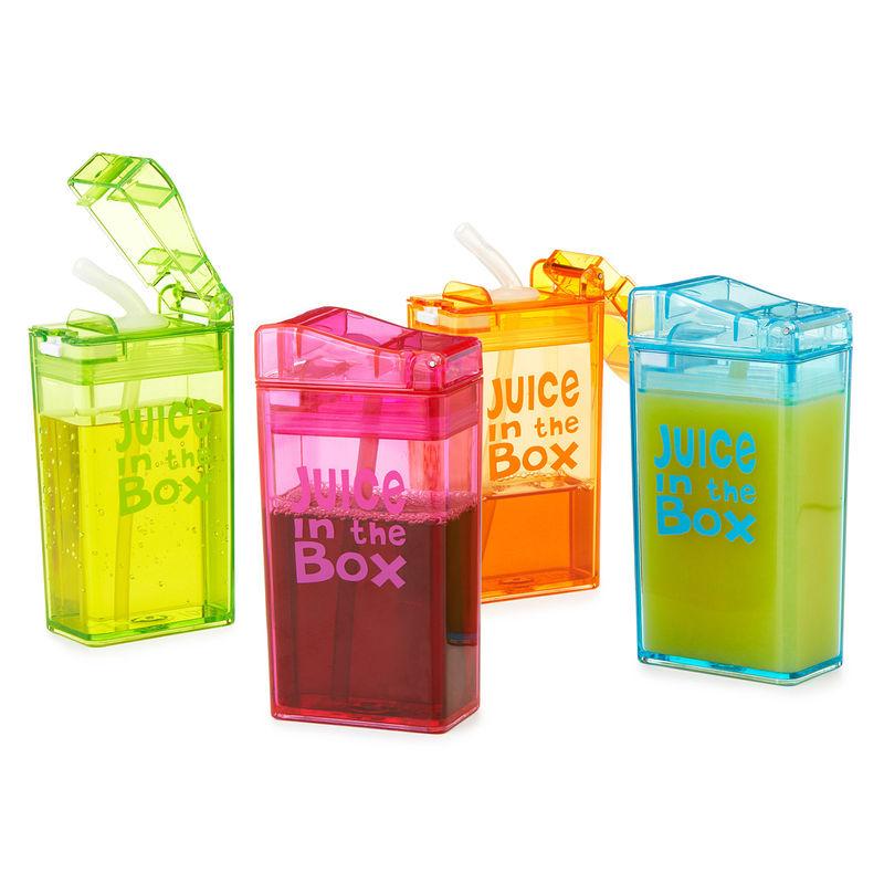 Различные упаковки для соков